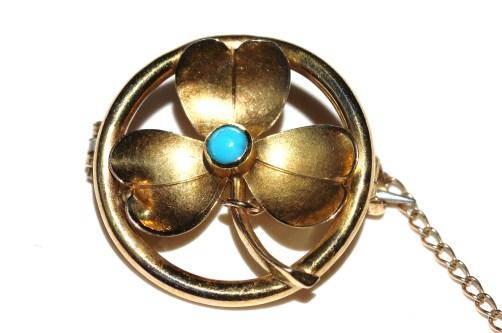 15ct clover brooch 1IMG_1256