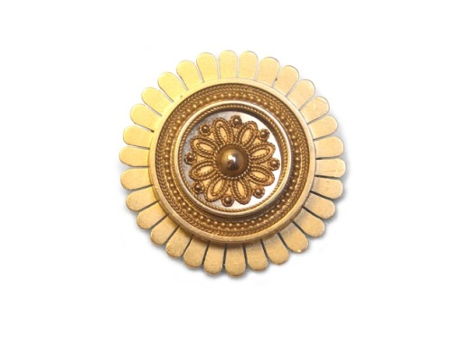 Gold sun brooch frontIMG_0169s