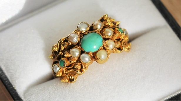 turquoise ring A