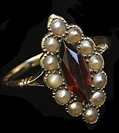 Vic garnet and seed pearl ringIMG_2315crs