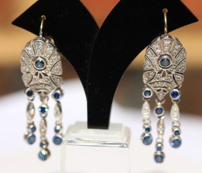 diamond and sapphire earrings1IMG_2842