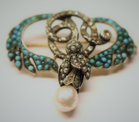 Turquoise brooch 3IMG_1785