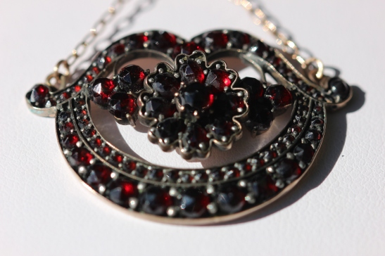 garnet pendant on RLIMG_2137