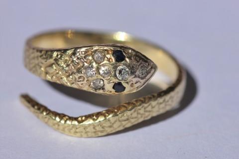Gem snake ring 1IMG_2751