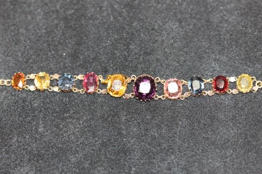 Gem set bracelet BIMG_4475