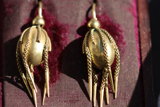 Victorian tassel earrings 2IMG_4393
