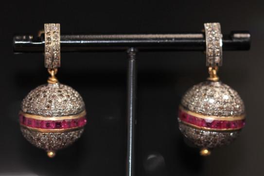 diamond and ruby earrings IMG_4661