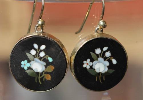 Pietr dura earringsIMG_3148