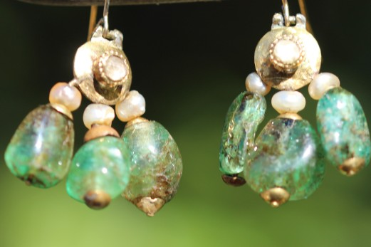 emerald earrings 1aIMG_4434