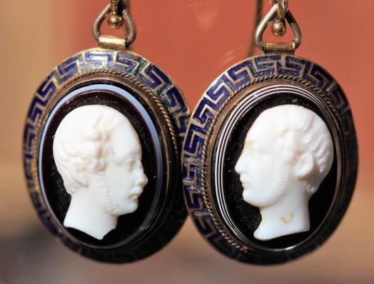Cameo earringsIMG_3150